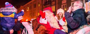 Mikołaj z Laponii odwiedził Białystok