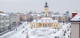 Zimowy Białystok