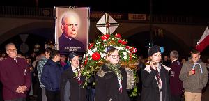 Procesja z relikwiami bł. ks. Michała Sopoćki