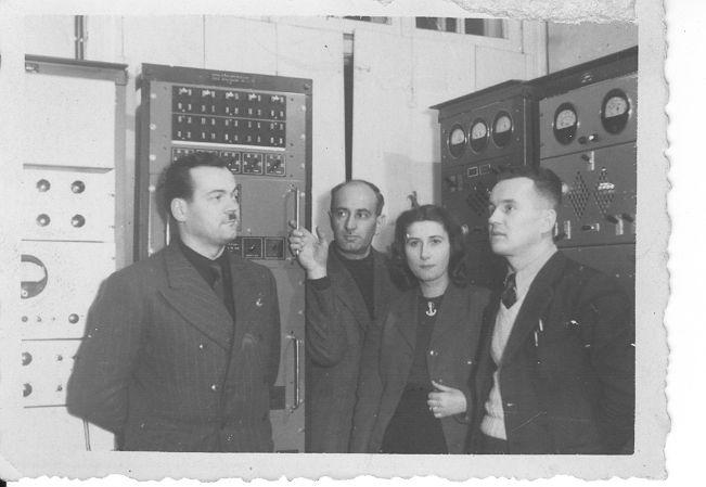 Amplifikatornia Polskiego Radia Białystok przy ul. Mickiewicza