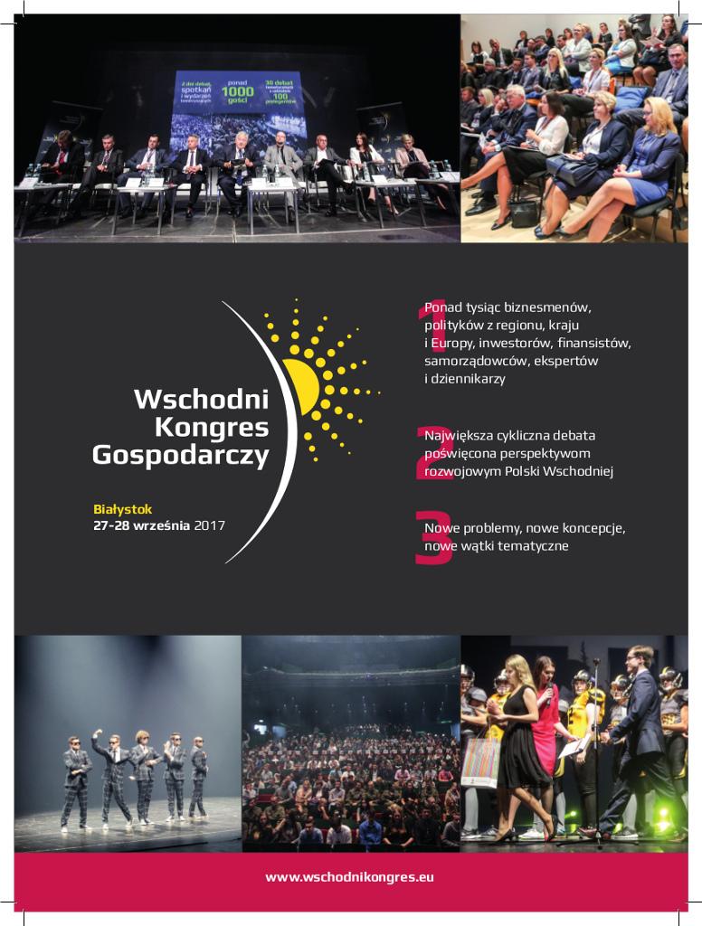 IV Wschodni Kongres Gospodarczy w Białymstoku, źródło: mat. org.