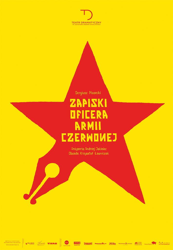 """""""Zapiski oficera Armii Czerwonej"""" w Teatrze Dramatycznym, źródło: mat. org."""
