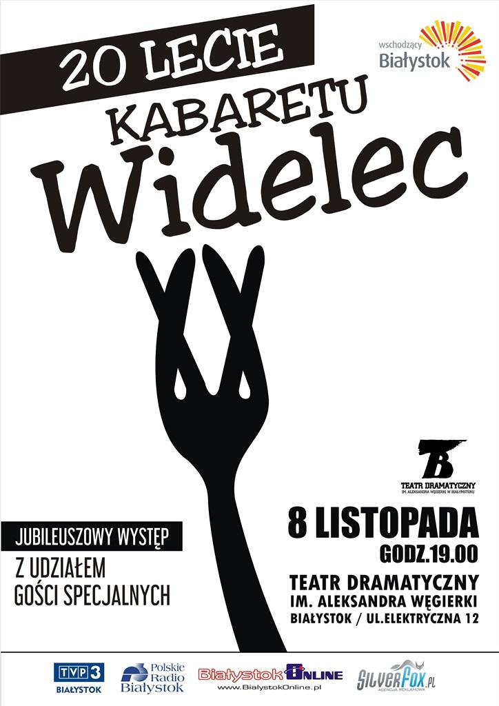 20-lecie Kabaretu Widelec, źródło: mat. org.