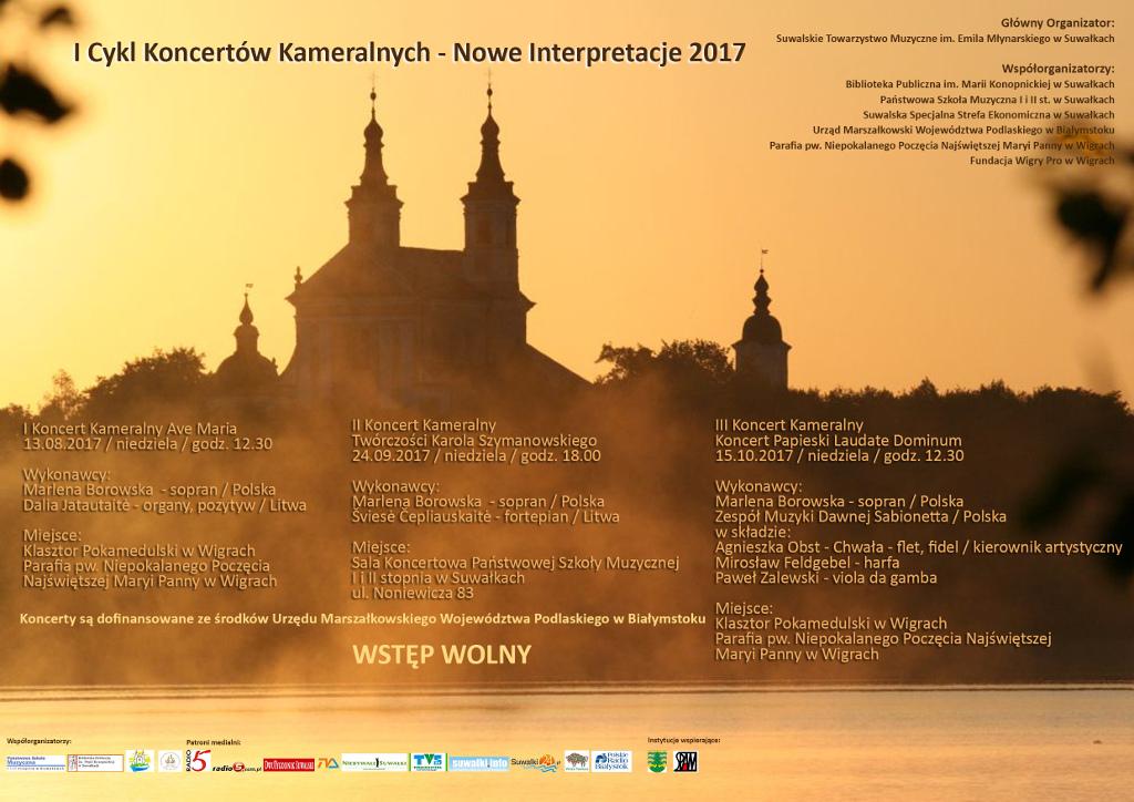 I Cykl Koncertów Kameralnych - Nowe Interpretacje 2017, źródło: mat. org.