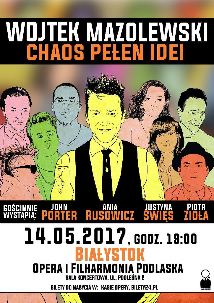 "Wojtek Mazolewski i ""Chaos Pełen Idei"" w OiFP, źródło: mat. org."