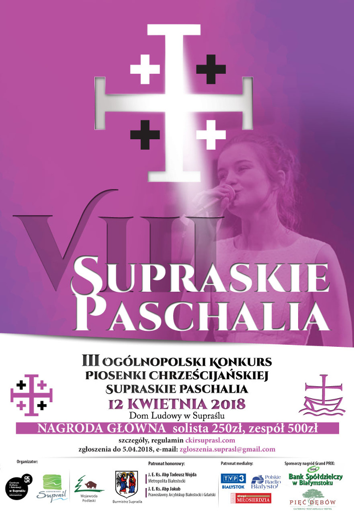 VIII Supraskie Paschalia, źródło: mat. org.