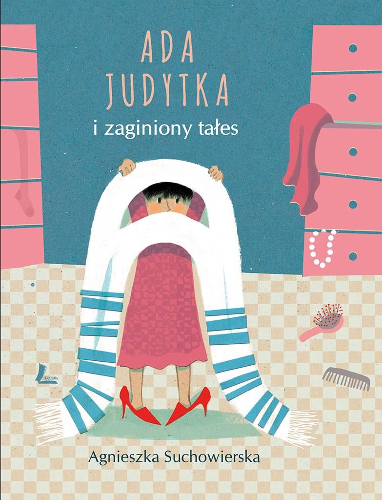"""Książka """"Ada Judytka i zaginiony tałes"""" Agnieszki Suchowierskiej, źródło: mat. pras."""