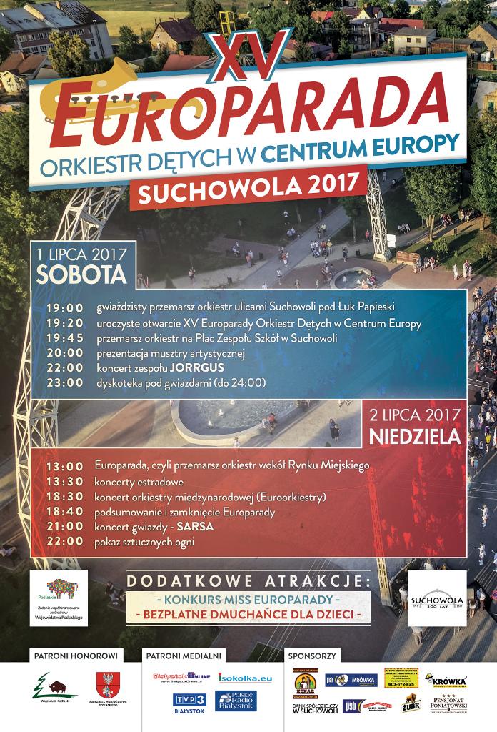 XV Europarada Orkiestr Dętych w Suchowoli, źródło: mat. org.