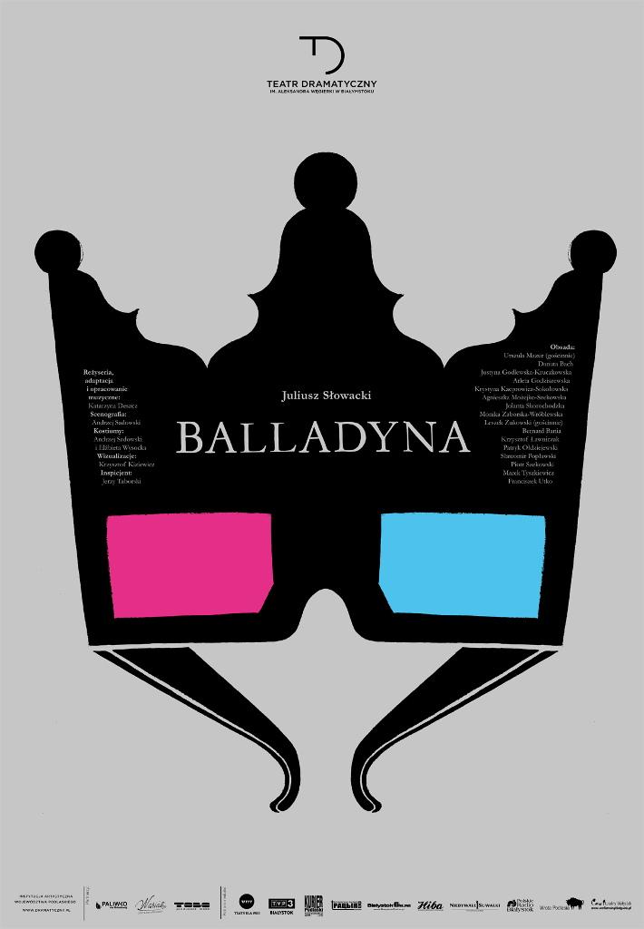 """""""Balladyna"""" w Teatrze Dramatycznym w Białymstoku, źródło: mat. org."""