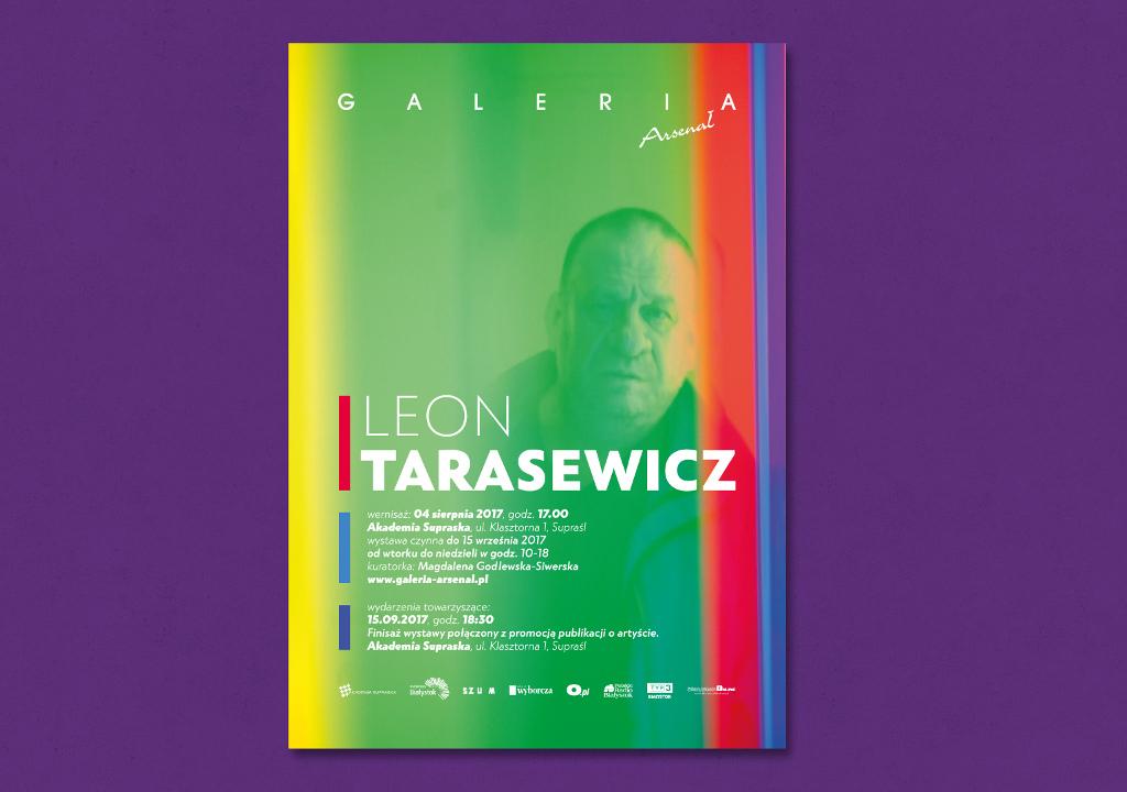 Wystawa Leona Tarasewicza w Supraślu, źródło: mat. org.