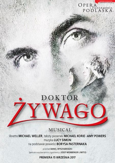 """Polska premiera musicalu """"Doktor Żywago"""" w OiFP, źródło: mat. org."""