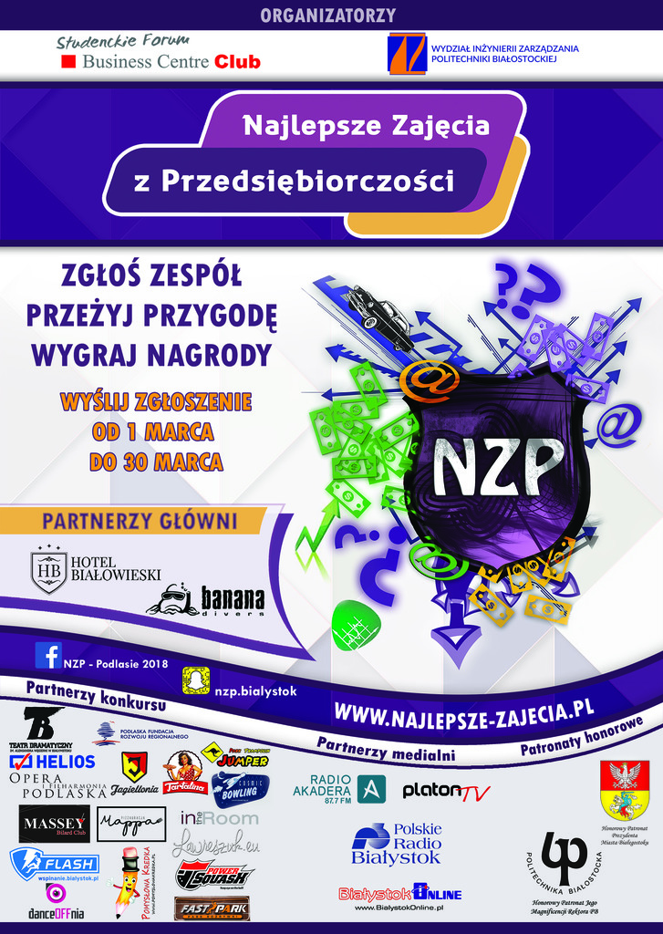 """XII Edycja Konkursu """"Najlepsze Zajęcia z Przedsiębiorczości"""", źródło: mat. org."""
