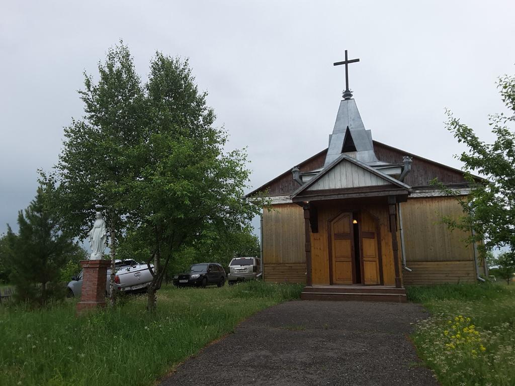 Kościół katolicki w Białymstoku na Syberii, fot. Agnieszka Kaniewska
