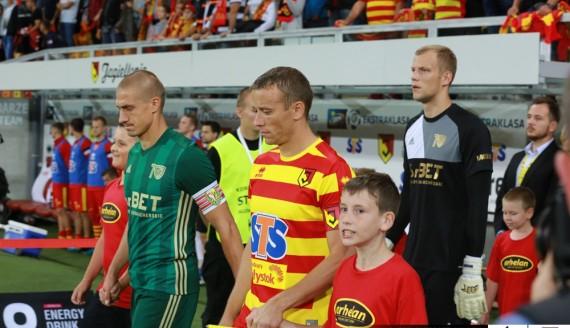 Jagiellonia Białystok - Śląsk Wrocław 1:1 (0:0), 19.08.2017, fot. Grzegorz Chuczun/jagiellonia.net