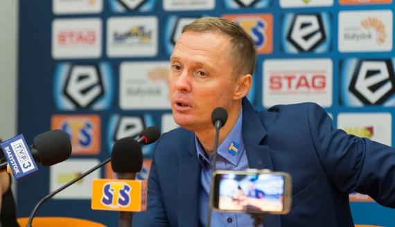Ireneusz Mamrot, Jagiellonia Białystok - Legia Warszawa, 24.09.2017, fot. Joanna Żemojda
