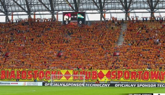 Jagiellonia Białystok - Lechia Gdańsk 0:1, 21.08.2016, fot. Michał Kardasz/jagiellonia.net