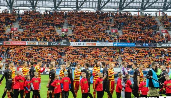 Jagiellonia Białystok - Cracovia 0:0, 15.04.2017, fot. Michał Kardasz/jagiellonia.net