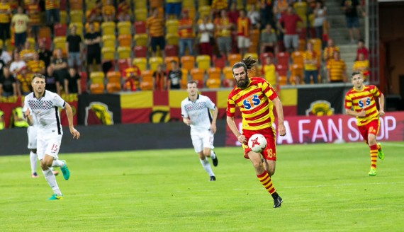 Jagiellonia Białystok - FK Gabala, fot. Joanna Żemojda