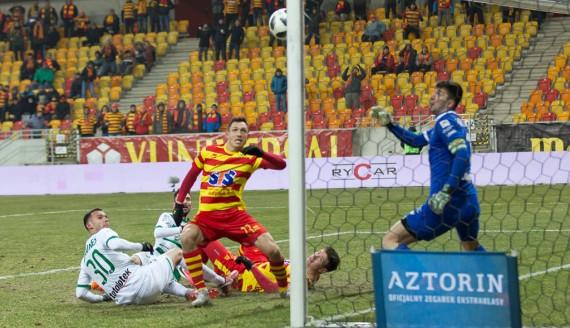Jagiellonia Białystok - Lechia Gdańsk, 23.02.2108, fot. Joanna Szubzda