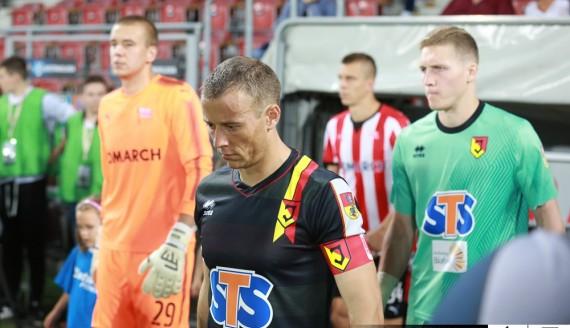 Cracovia - Jagiellonia Białystok 1:1 (1:0), 9.09.2017, fot. Grzegorz Chuczun/jagiellonia.net