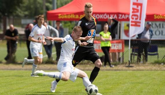 Jagiellonia Białystok - Wigry Suwałki, 07.07.2018, fot. Joanna Szubzda