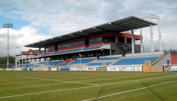 Stadion Wigry w Suwałkach, 2013.10.13, foto Anna Przybycień