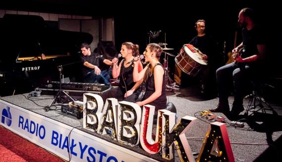 Koncert live - Białka/BABUKA w Polskim Radiu Białystok, fot. Joanna Żemojda