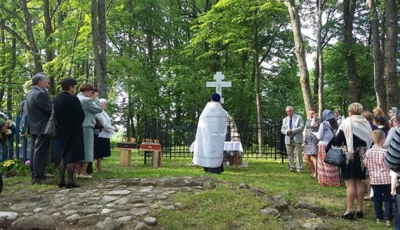71. rocznica spalenia wsi Potoka, 22.05.2016 r., fot. Michał Stepaniuk