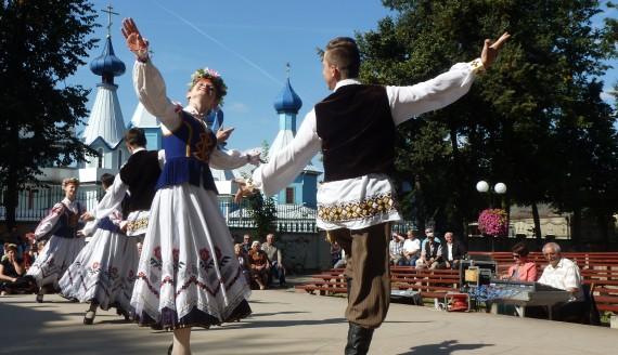 Festyn ludowy w Bielsku Podlaskim, fot. Anna Petrovska