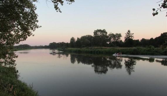 Na rzece Bug w Mielniku. Fot.E. Ryżyk