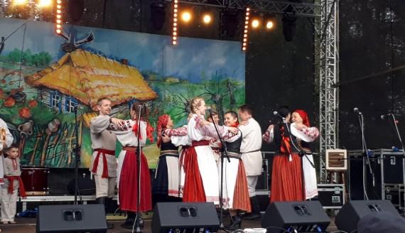"""Festiwal """"Z wiejskiego podwórza w Czeremsze"""" Foto: S. Sawczuk"""