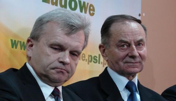 Jacek Piorunek i Mieczysław Bagiński - fot. A. Dąbrowski