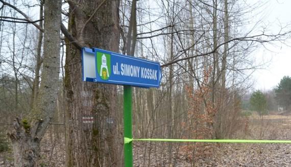 Otwarcie ulicy Simony Kossak w Białowieży, fot. Łukasz Ławrysz