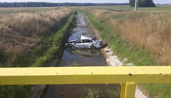 Śmiertelny wypadek w powiecie grajewskim, źródło: Podlaska Policja