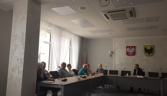 Pierwsze posiedzenie rady seniorów w Wasilkowie, fot. Marcin Mazewski