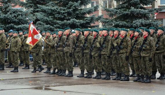 Żołnierze Wojsk Obrony Terytorialnej, fot. Paweł Wądołowski
