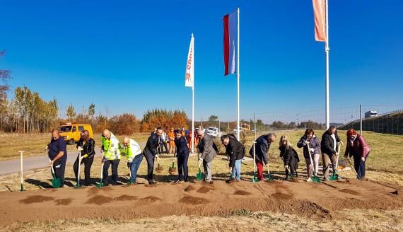 Rozpoczęła się budowa tzw. drugiej jezdni obwodnicy Szczuczyna w ramach Via Baltica, fot. Paweł Wądołowski