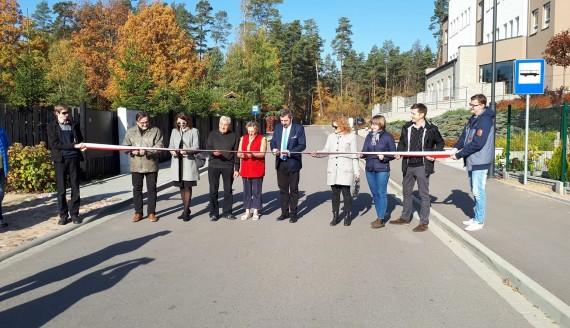 W Supraślu otwarto nową ulicę - Fot. Grzegorz Pilat
