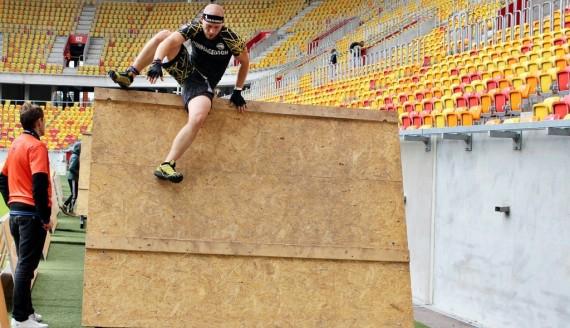 Bieg Hero Run na stadionie miejskim w Białymstoku, fot. Sylwia Krassowska