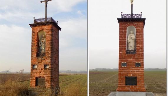 Odremontowano kapliczkę św. Piotra w Jeziorku w gminie Piątnica, źródło: http://www.gminapiatnica.pl