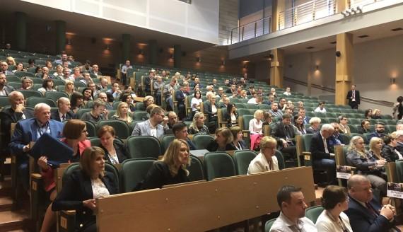 Kongres Liderów Zmian w Wyższej Szkole Finansów i Zarządzania w Białymstoku, fot. Cecylia Lola-Gołembiewska