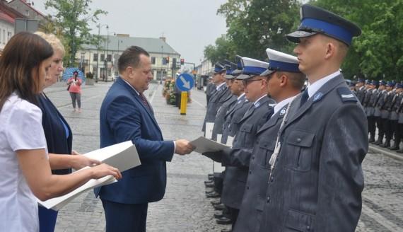 Święto policji w Suwałkach, fot. Tomasz Kubaszewski