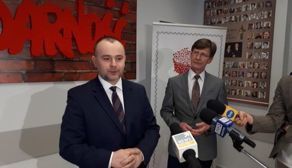 Paweł Mucha w Białymstoku, fot. Renata Reda