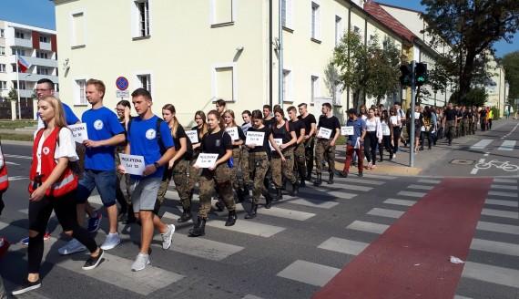 Europejski Dzień Bez Ofiar Wypadków Drogowych w Białymstoku, fot. Grzegorz Pilat