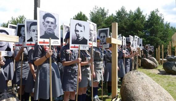 Obchody 72. rocznicy Obławy Augustowskiej w Gibach, 16.07.2017, fot. Iza Kosakowska