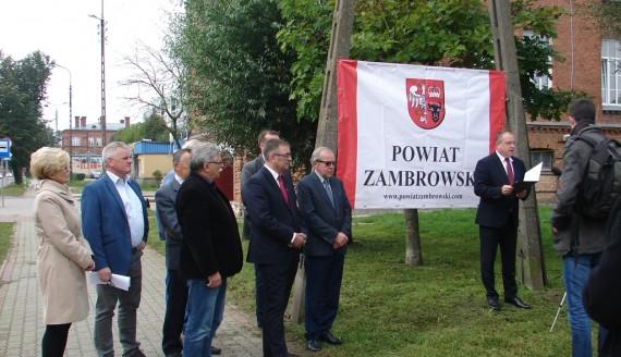 Koniec remontu ul. Magazynowej w Zambrowie - starostwo powiatowe poinformowało o przebudowie innych dróg, fot. Adam Dąbrowski