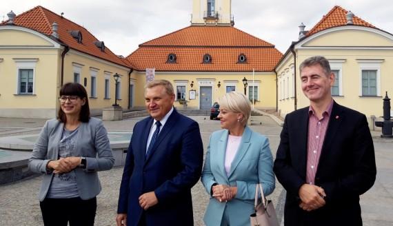 """Konferencja """"Solidarni z Polakami na Białorusi"""", fot. Źmicier Kościn"""