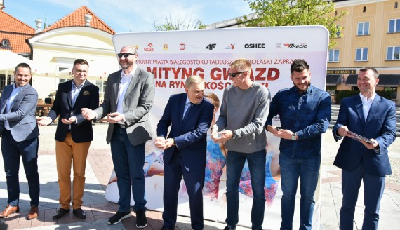 W Białymstoku trwają przygotowania do Mityngu Gwiazd, źródło: Marcin Jakowiak/UM Białystok
