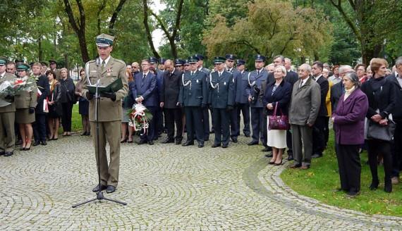 17 września 2017 r. Uroczystości upamiętniające 78. rocznicę sowieckiej napaści na Polskę w Suwałkach, fot. Iza Kosakowska