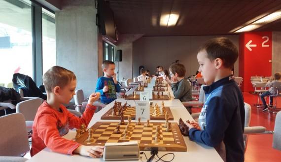 III Szachowe Mistrzostwa Białegostoku Dzieci do lat 6, fot. Wojciech Szubzda